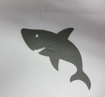 写真:川丸くんペーパーモビール鮫