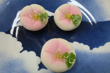 写真:朝顔の和菓子