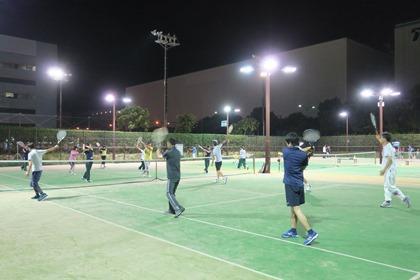 写真:テニス教室2018秋