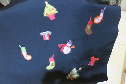 写真:クリスマスバージョンの帯