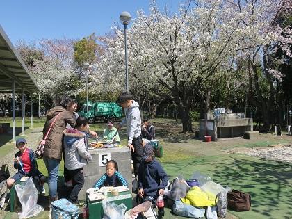 写真/桜とBBQ2019