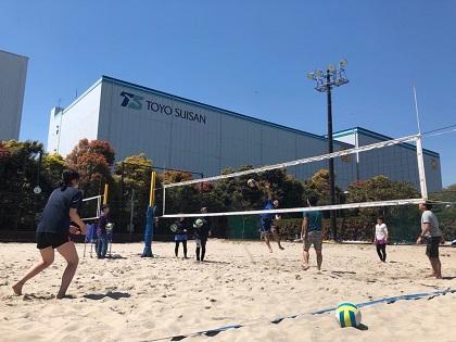 写真/第1回日帰りビーチ2019練習風景