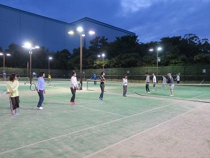写真/春テニス初日(初心者クラス)