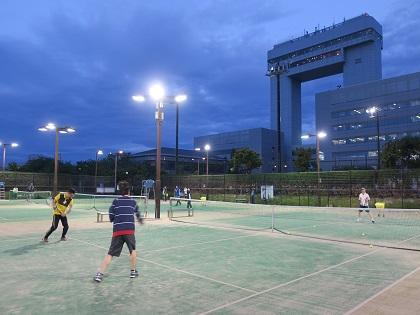 写真/春テニス(上級者クラス)