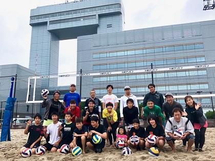 写真/20190706ビーチバレー日帰り研修