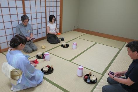 写真/茶杓の清め方の復習
