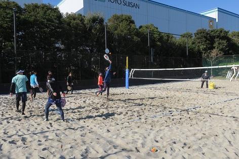 写真/ビーチテニス大会20191130②