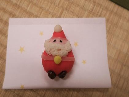 写真/サンタのお菓子