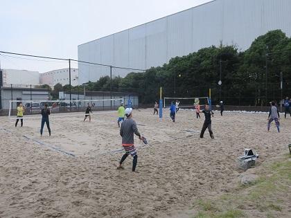 写真/20201103ビーチテニス大会②
