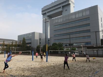 20201103ビーチテニス大会③