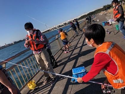 写真/20201114釣り教室1人に1人指導員