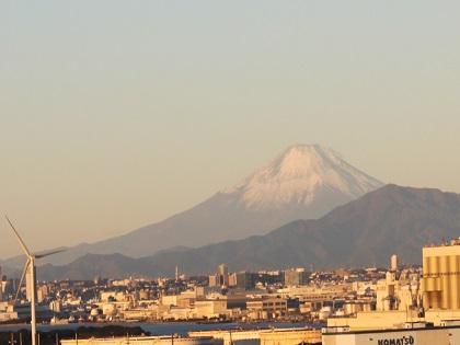 写真/令和3年初日の出の富士山