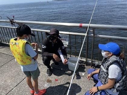 写真/親子釣り教室③