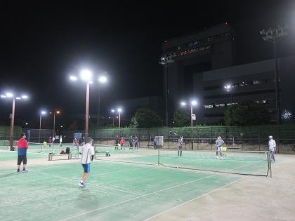 写真/夜テニス2021秋