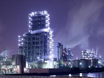 写真/工場夜景昭和電工