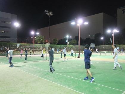 写真/秋テニス初心者クラス